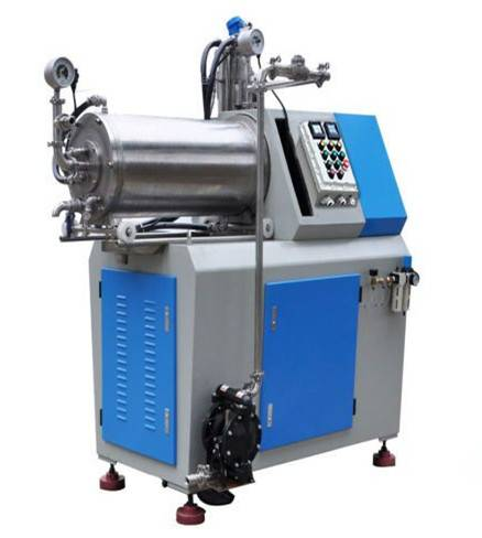 Turbine Horizontal Nano-level grinding mill for Oil ink printing ink