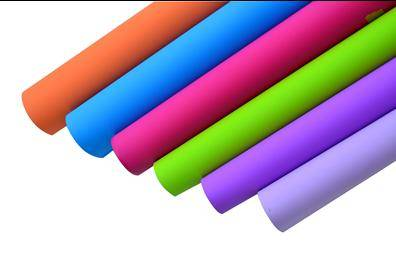scratch resistant matt PVC film for furniture / construction decorative lamination