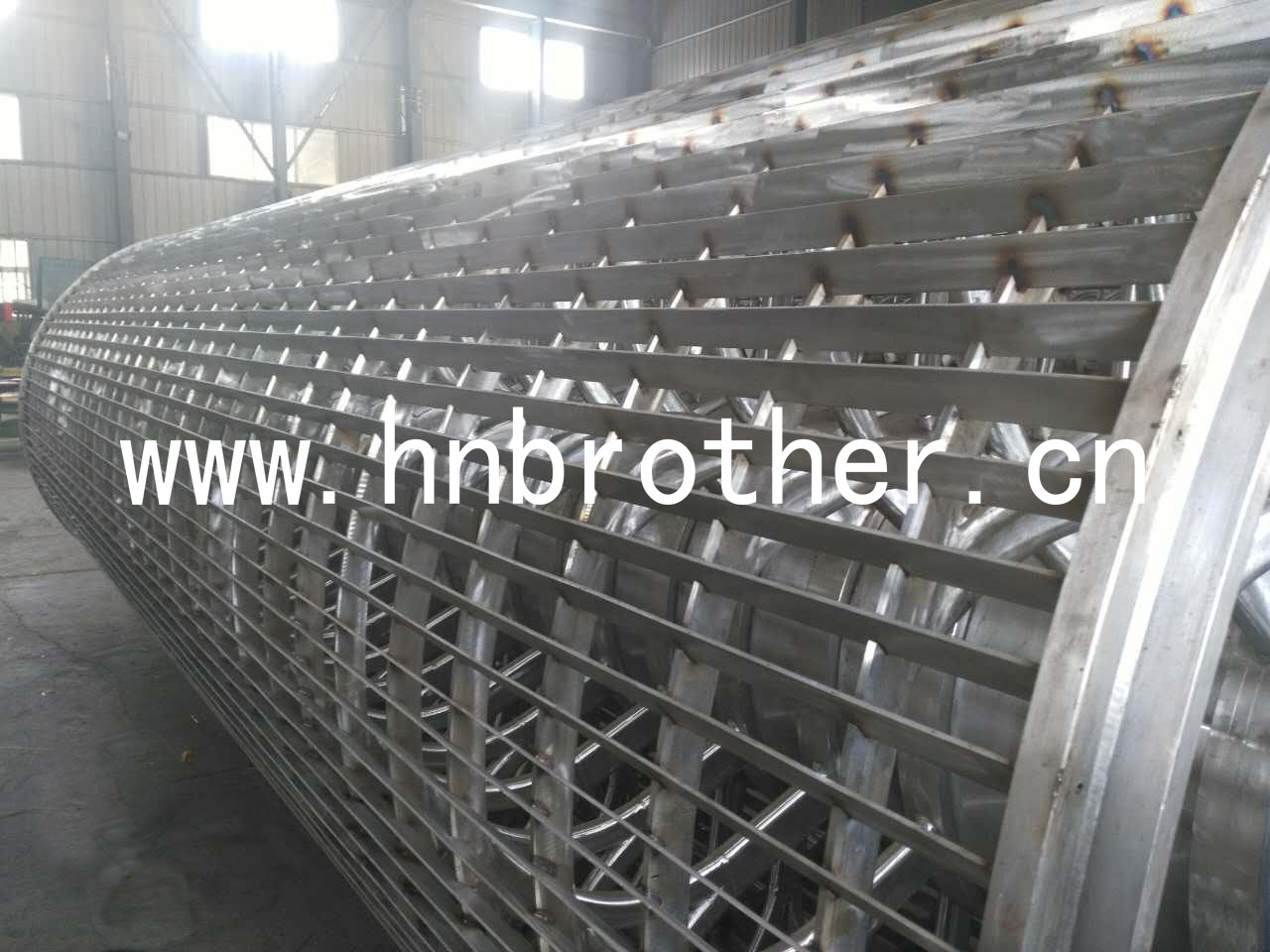 Special Structure Cylinder Mould For Paper-making Machine