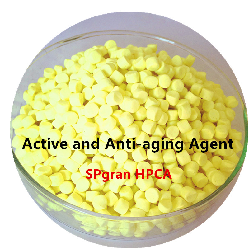Curing active and anti-aging agent SPgran HPCA-50,tertiary amines active agent