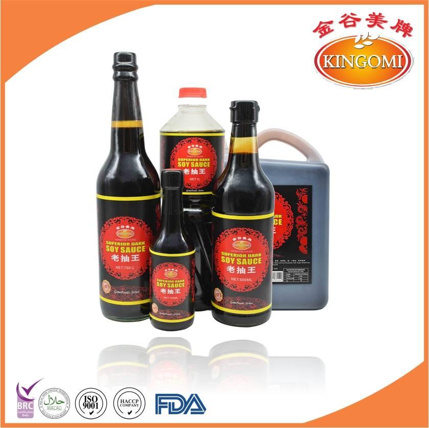 Naturally Brewed Superior Dark Soy Sauce 625ml