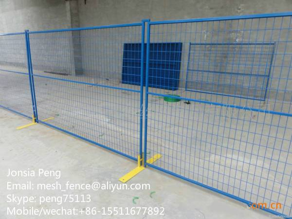 Temporary fence with welded mesh for Canada Market