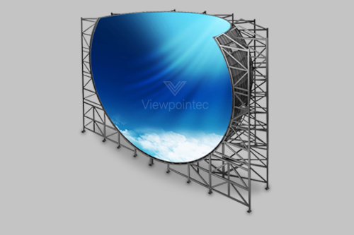 Featured Panoramic 360° LED Display