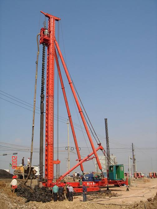 CFG30 Long Auger Drill Machine with power head
