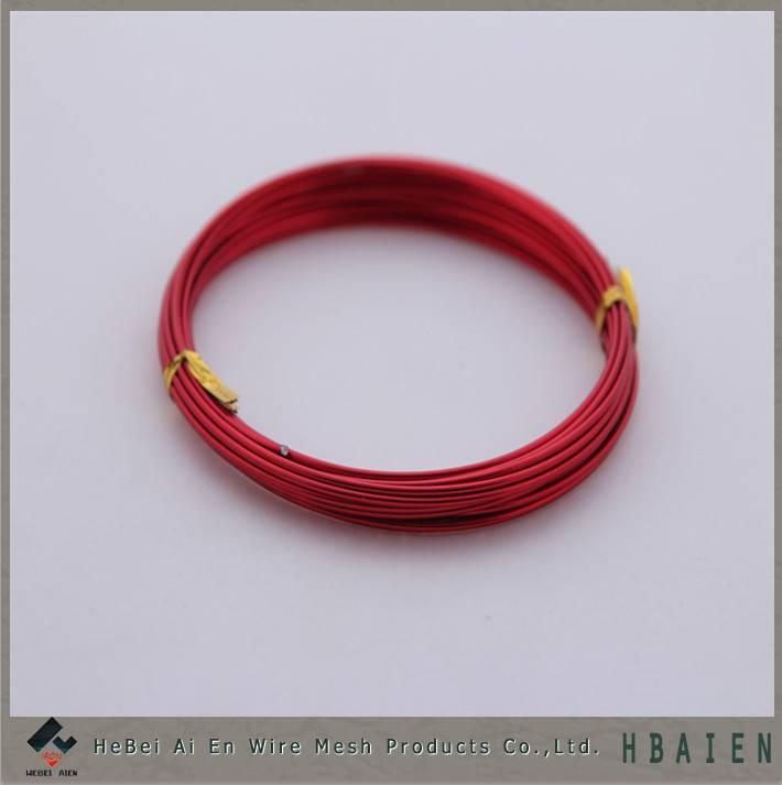 colored aluminum beading wire