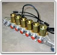 komatsu bulldozer D155A-1 cummins engine electromagnetic valve assy