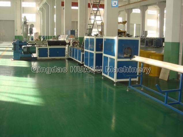 PE Carbon Spiral Pipe Extrusion Line