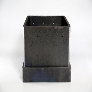 anti-oxidation siliconized graphite crucible