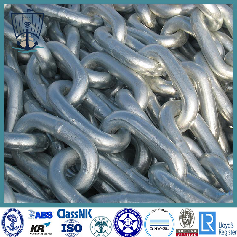 Open Link Anchor Chain for Ship