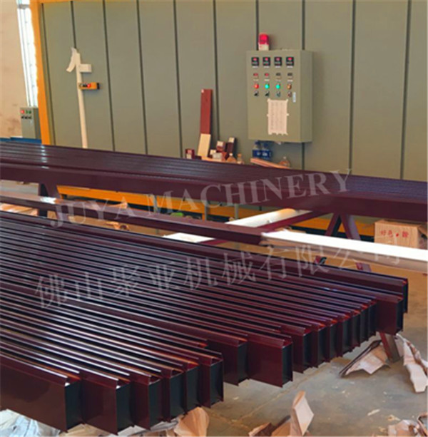 Aluminum profiles vacuum wood grain effect transfer printing machine
