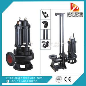 non clogging submersible sewage pump / dirty water pump