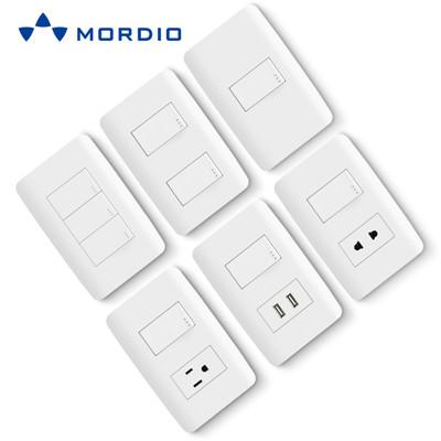 N1.6 Wholesaler supply oem/odm new design electrical modular US standard light switch and socket 10A