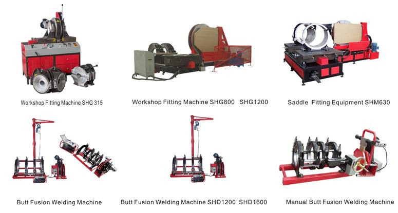 PE Welding machine for joint
