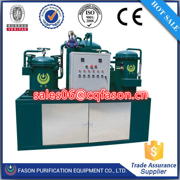 Vacuum Oil regeneration purification machine with pure physical filtration method