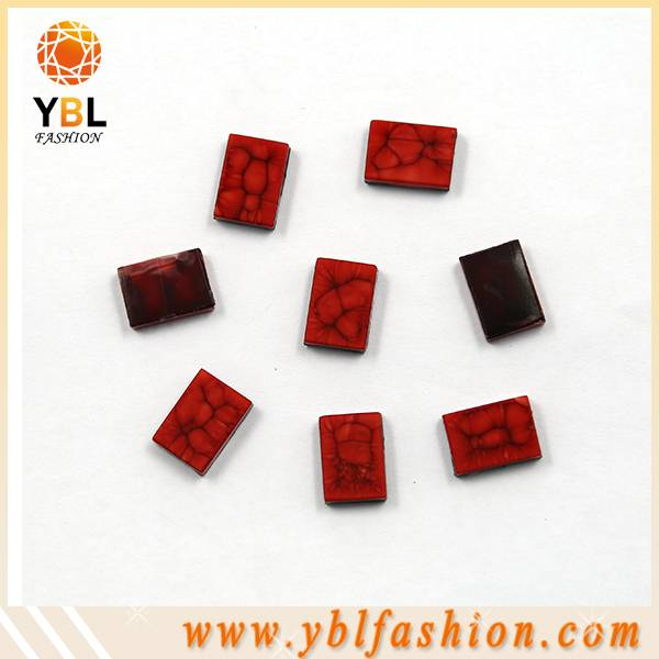 Garment accessory hotfix resin epoxy stone design transfer