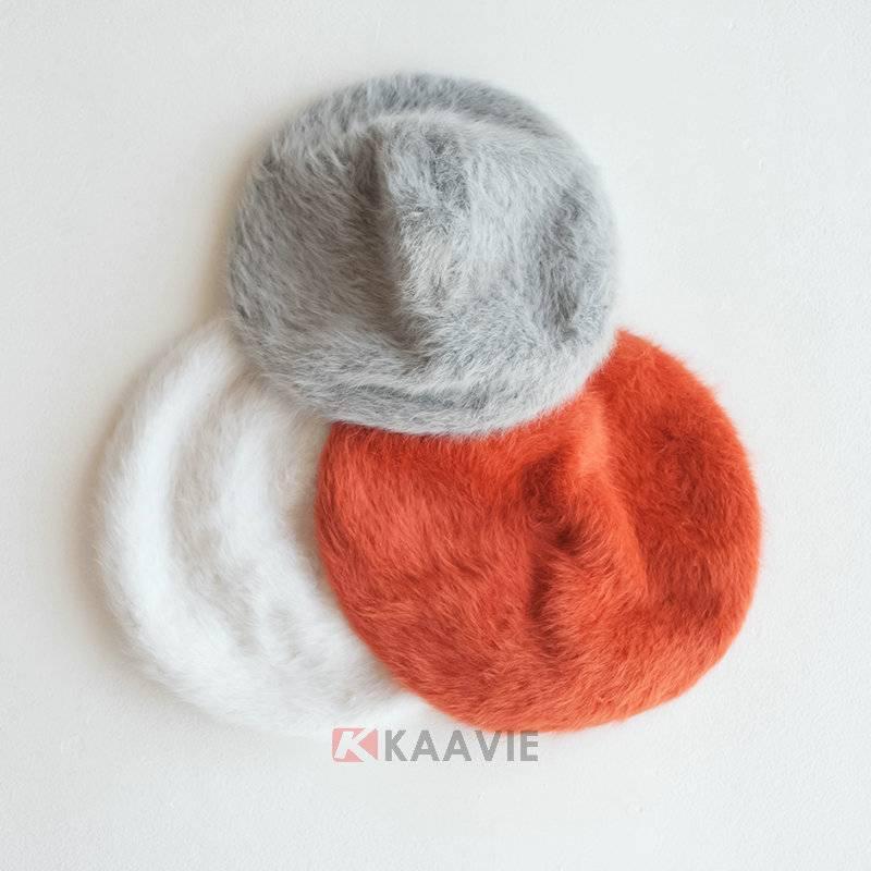 custom female winter warm french  berets