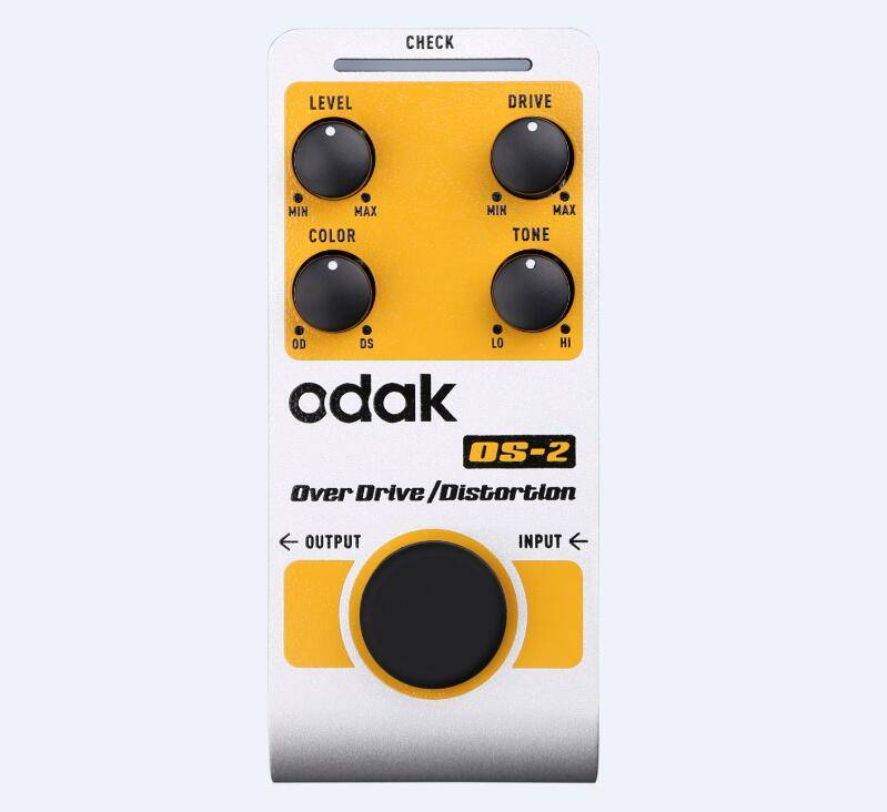 odak OS-2 odak Effectors Guitar Effect Pedal Over Drive guitar effects pedals OEM guitar pedal facto