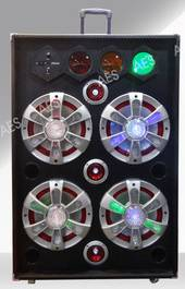 PS-410 pa system 2.0 stage speaker with traffic light