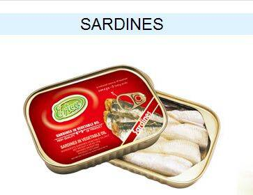 sardine canned fish