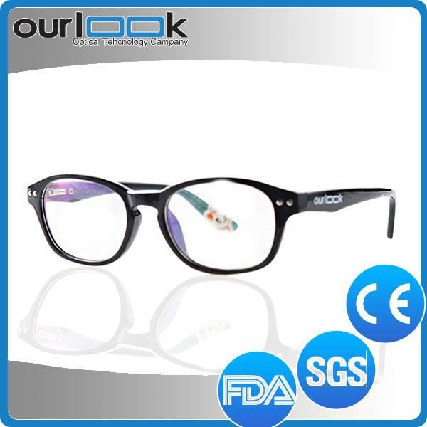 Latest Hand Made Black Children Prescription Eyeglass