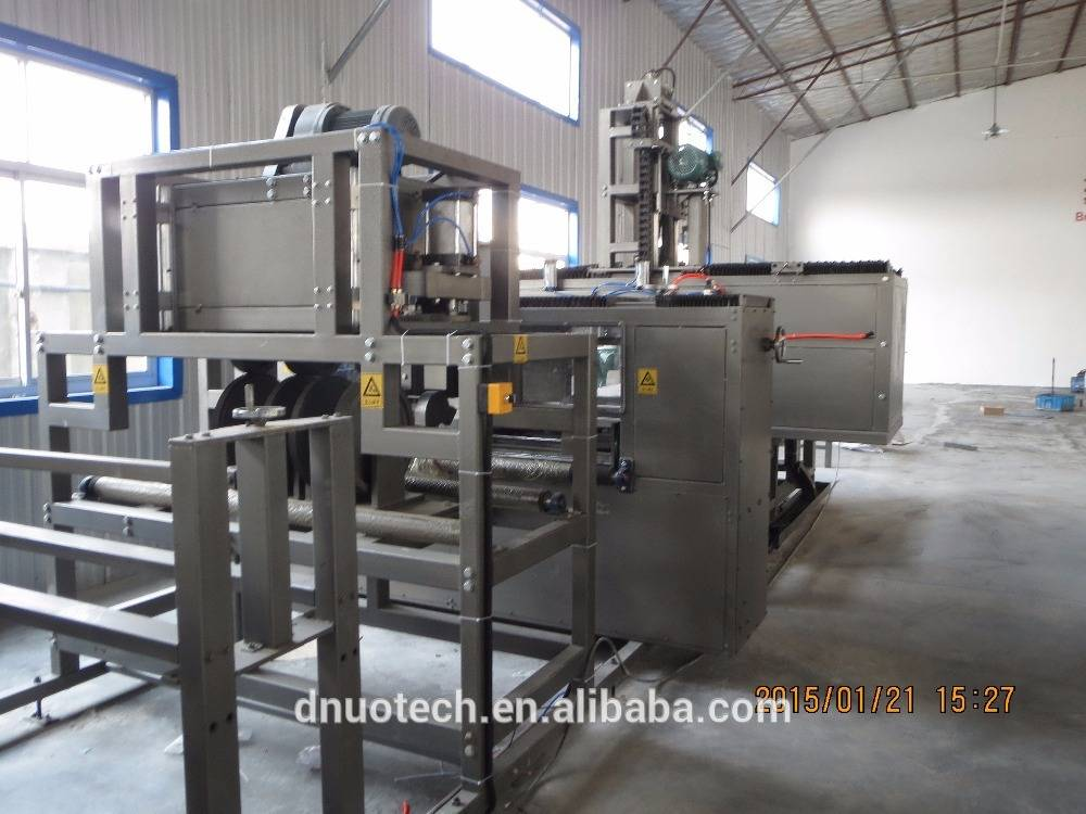 Intelligent FRP gutter production line