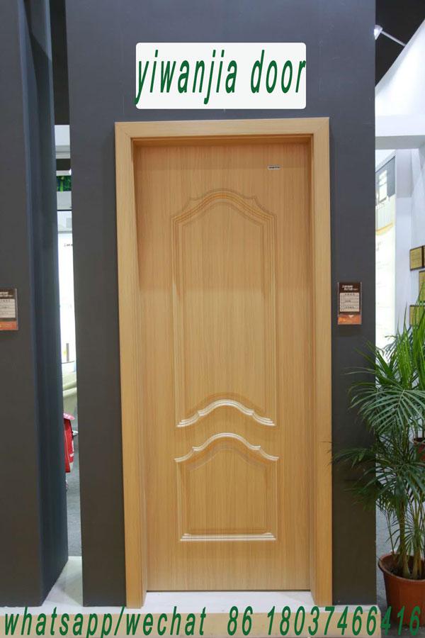 luxury modern pvc coated interior door