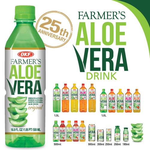 OKF Farmer's Aloe Vera Drink (Aloe Drink)