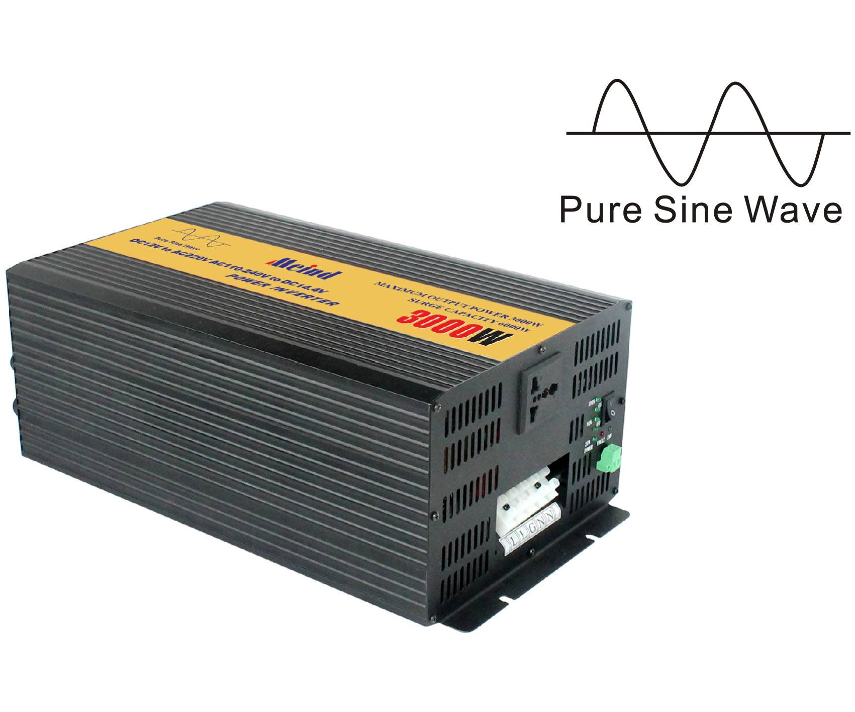 3000W off-grid pure sine wave  power inverter for solar system