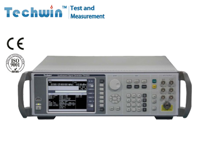 Techwin Synthesized Signal Generator TW4200 with Frequency Step & List Sweep
