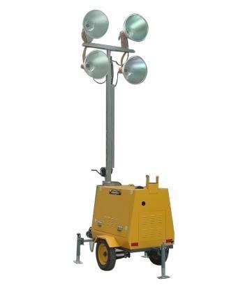 Mobile Lighting Tower Light Plant