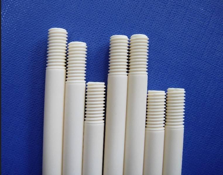 Aluminium oksida keramik sekrup /sekrup keramik alumina