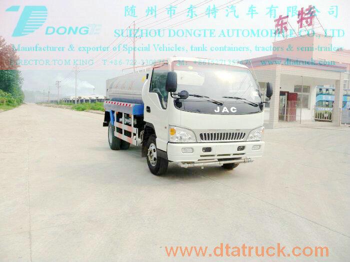 DTA5091GSS water tanker truck