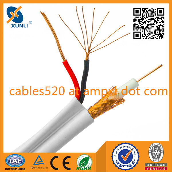 Siamese Coaxial Cable RG 59 CCTV Cable for HD camera