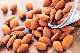 cashew nuts, almond nuts, pecan nuts, peanuts, walnuts