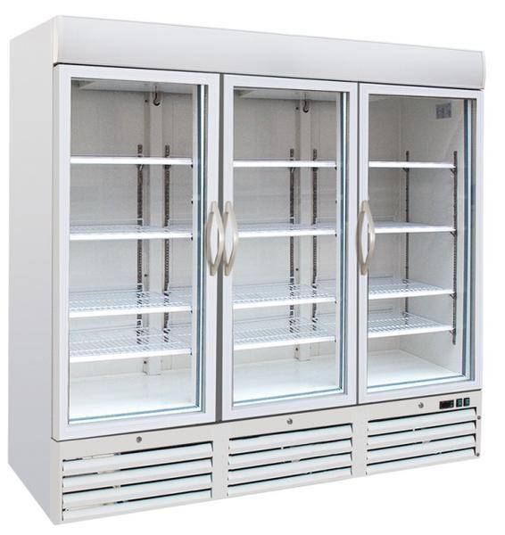Glass Door Kitchen Refrigerator Display Refrigerator