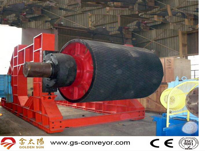 China manufacturer high quality belt conveyor pulley steel drum drive pulley