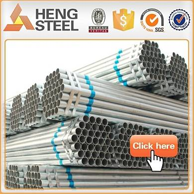 ISO tubo galvanizado steel pipe 15 years manufacturer