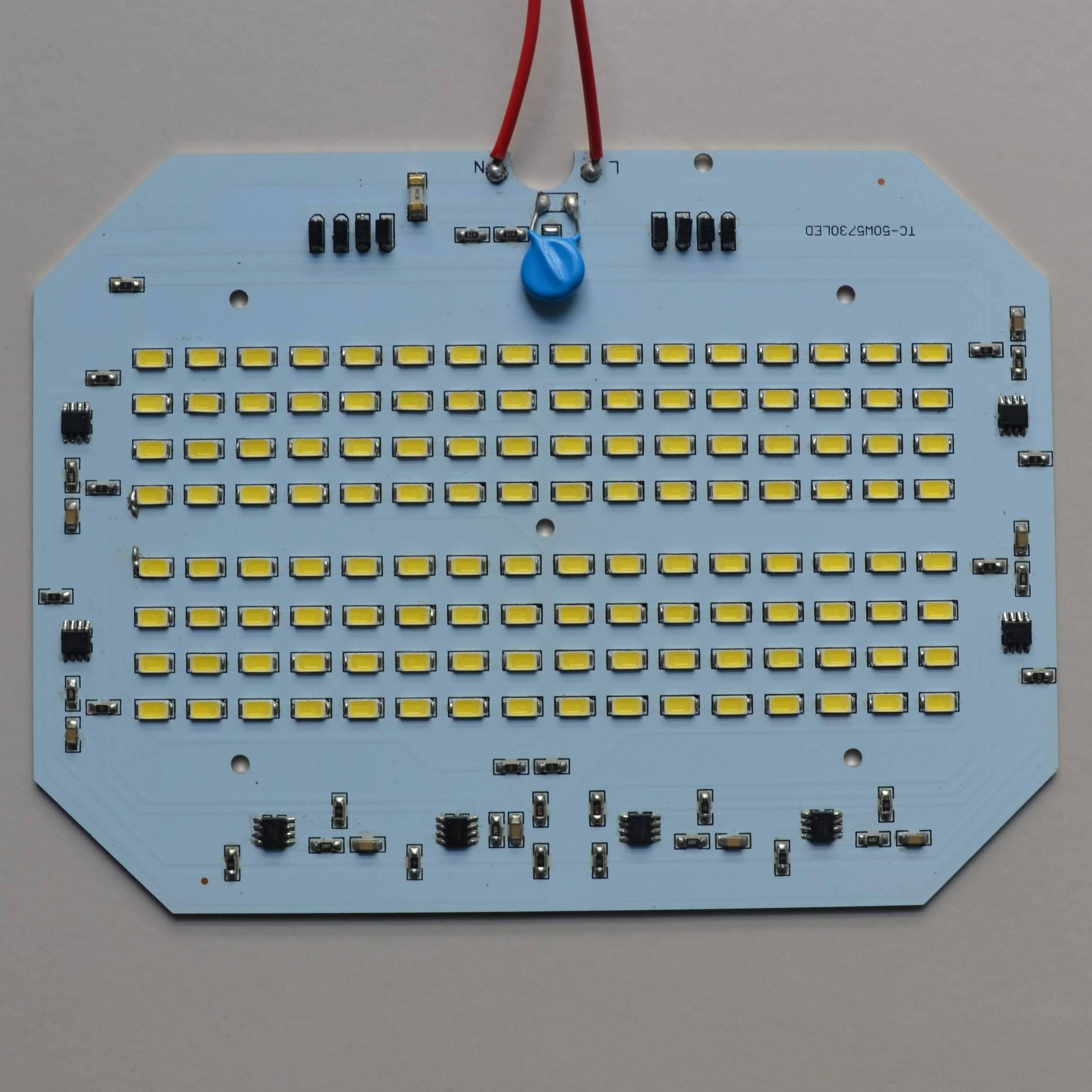50W High voltage PCB LED lighting board