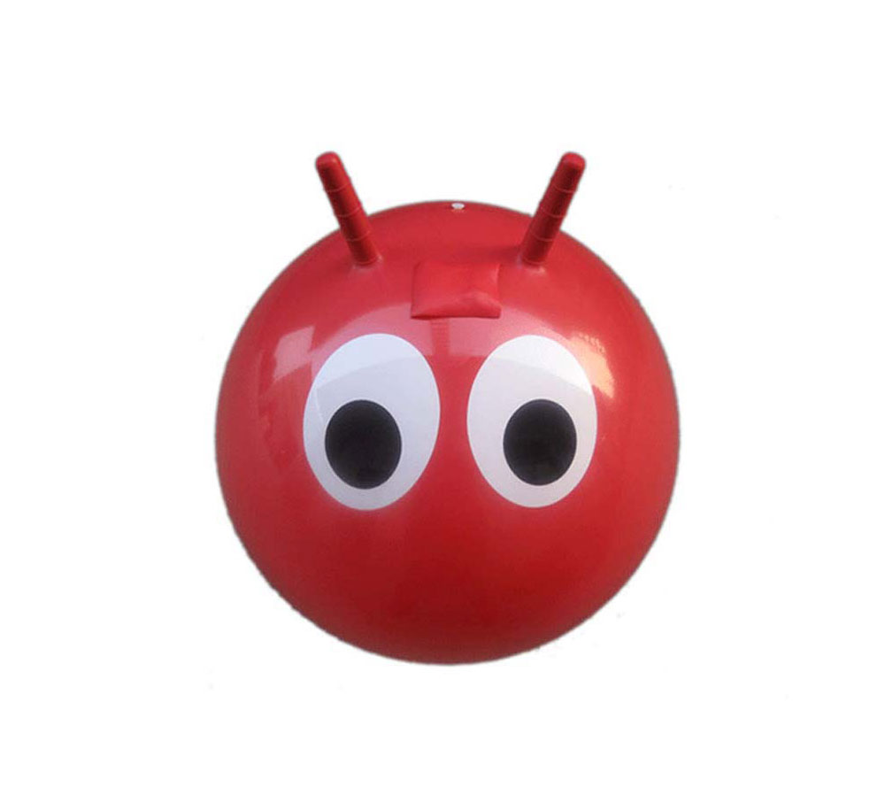 Eco-friendy PVC Inflatable Jumping Hopper Ball With Horn Wholesale