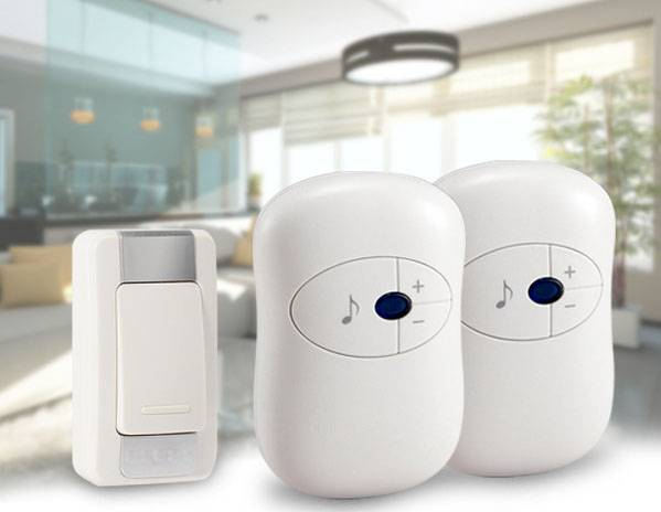 LED Wireless Chime Door Bell Doorbell & Wireles Remote control 36 Tune Songs