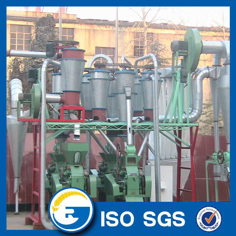 15t wheat flour processing machinery flour mill