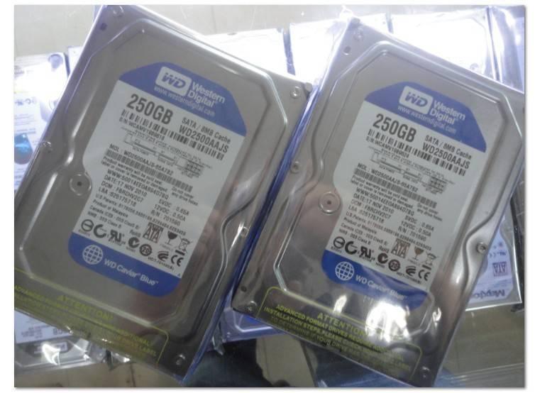 WD LAPTOP HDD WD2500AAJS /250G/ SATAⅡ/8M/7200