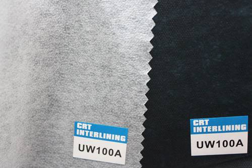 non woven fusible interlining-UW100A(interfacing)