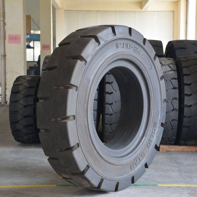 solid forklift tyres prices 12.00-24/8.50 for tow vehicles
