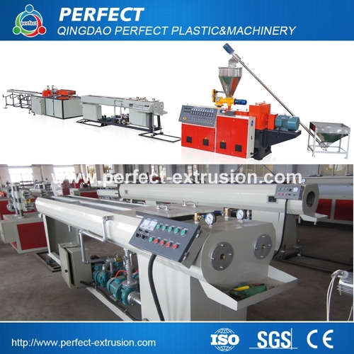 PVC Twin Pipe Extrusion Line, PVC Pipe Production Machinery