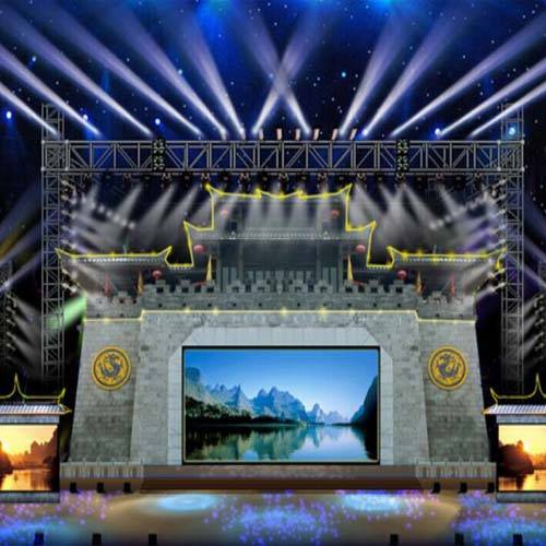 specialized aluminum outdoor stage/outdoor concert stage/outdoor stage truss design