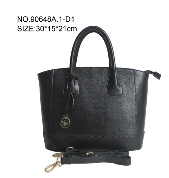 premium fashion OEM Genuine leather handbag