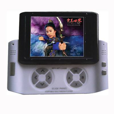 "Digital MP4 #LK-1003 with 2.4""TFT display design for game playing"