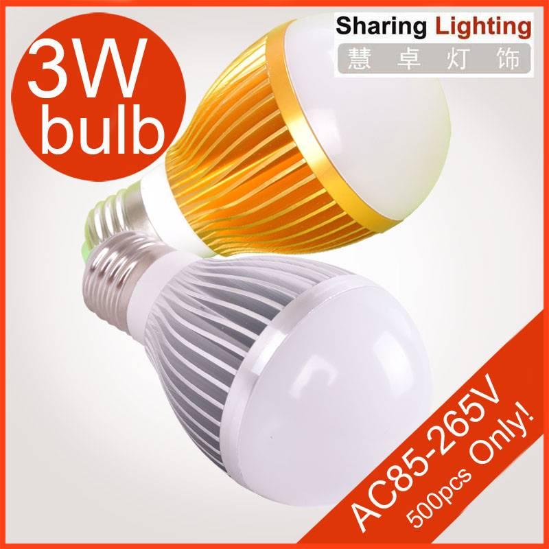5W E27 LED bulb lamp ,warm white / pure white led light bulb 450lm guaranteed 2 years