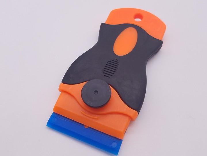Plastic Razor Scraper Double Edged Razor Blades